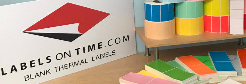 thermal labels from Labelsontime